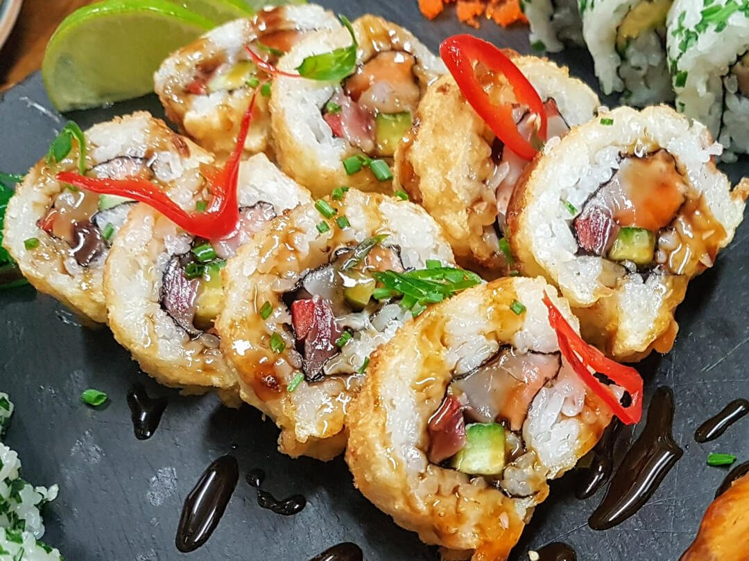 Sushi The Fried Maki Roll